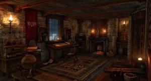 Medieval science room by gurgur