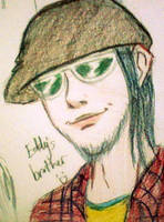 Eddy's brother by airatainted