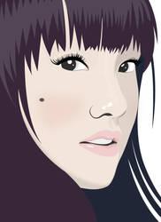 Girl Face Version 2 by mark-san
