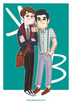 Kurt and Blaine by ValArt