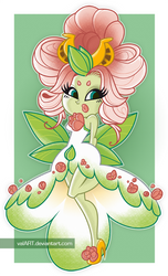The Queen of the Flower Fairies -2- by ValArt