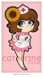 Catherine Fletcher by ValArt