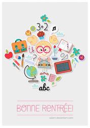 Bonne rentree! by ValArt