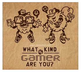 Gamers by ValArt