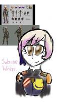 Sabine Wren (Star Wars Rebels) by MafiPaint
