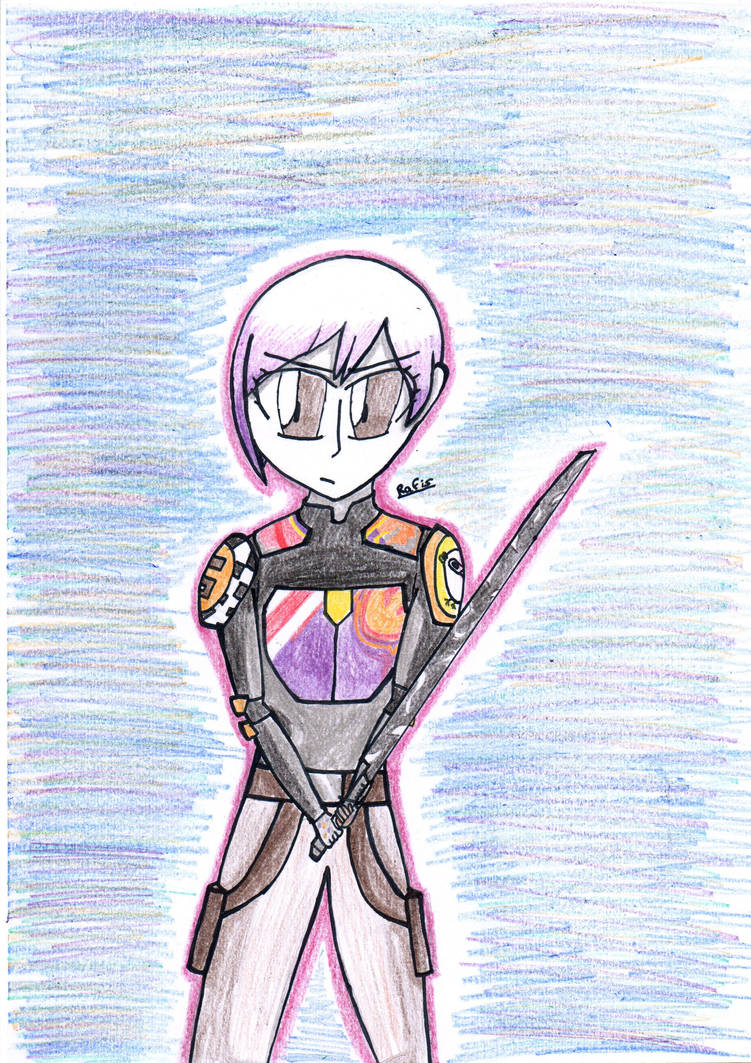 Sabine and the Darksaber #2 by MafiPaint