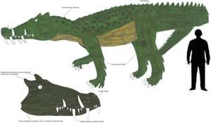 The DinoCroc by Coelotitan