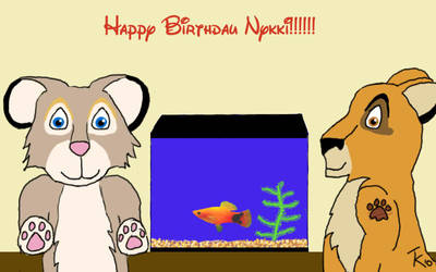 Birthday Present by Tabatha87