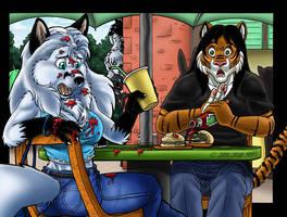 Artica's Bad Date #1 by Ebonyleopard