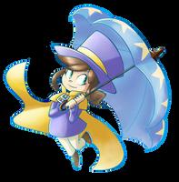 Hat Kid by LunarHalo24