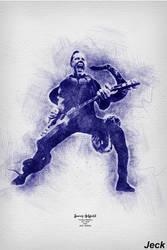 James Hetfield / Metallica by Jeck-rumbo