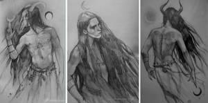 Sketchbook studies 2 by jodeee
