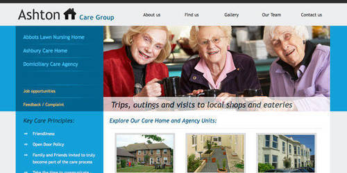 Care Homes by directmediadesign