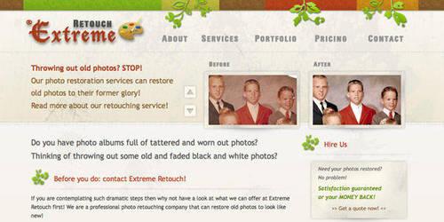 photo restoring by directmediadesign