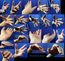 Hand Pose-Foreshortening/Perspective 1 by Melyssah6-Stock