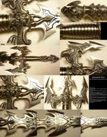 More Thorough Sword Detail Stock by Melyssah6-Stock