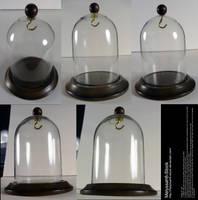 Glass Display Case Stock - Bell Jar by Melyssah6-Stock