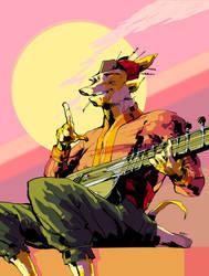musician man by Reier
