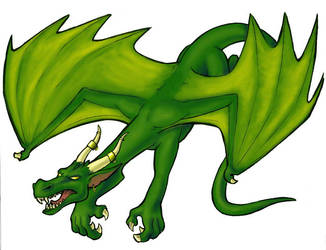 here there be dragons by akuma-neko