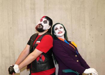 Harley-Joker Gender Swap NYCC2018 01 - Abdella by Abdella-Photo-Art
