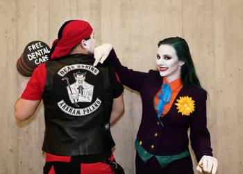 Harley-Joker Gender Swap NYCC2018 07 - Abdella by Abdella-Photo-Art