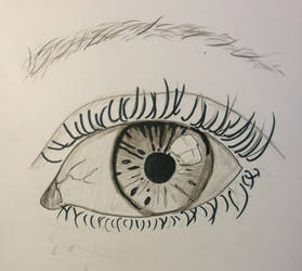 eye by ikafox