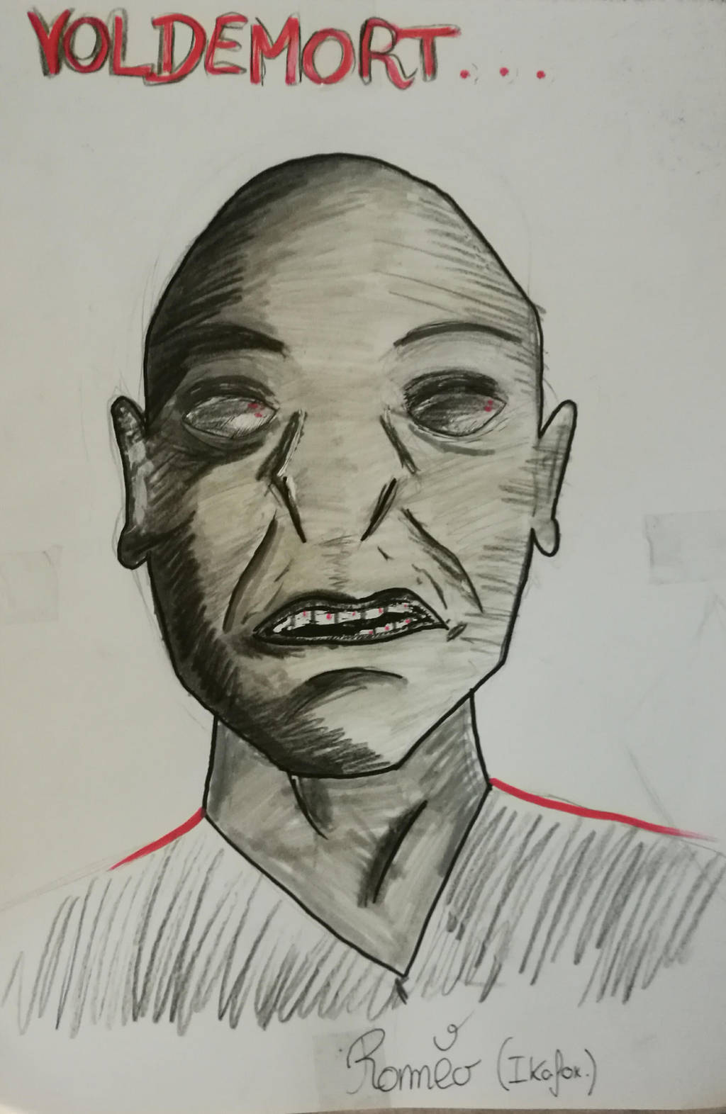 Lord Voldemort by ikafox
