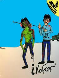 zombies by ikafox