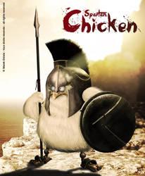 Spartan Chicken by MarekDolata