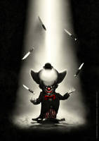 Ernest the dwarf clown by MarekDolata