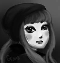 Practice quick painting by Hamsterific