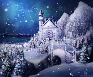 Winter Getaway by Hamsterific