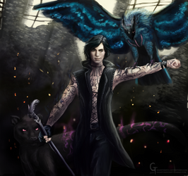 Devil May Cry 5 V by Hamsterific