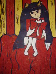 Kotoko Print by Bow-and-Arrow
