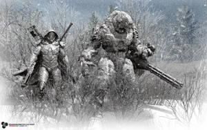 A Ghost Team by DarkGeometryArt