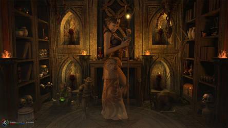 Wizards Workshop by DarkGeometryArt
