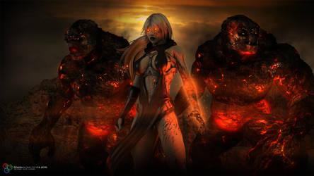 Sorceress by DarkGeometryArt