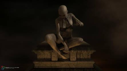 Weaver Of Nightmares by DarkGeometryArt