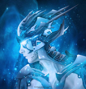 Cyborg01 by DarkGeometryArt