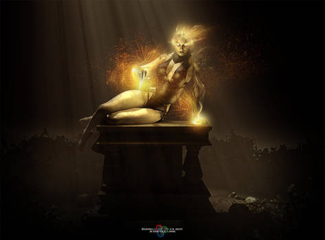 Dread Witch by DarkGeometryArt