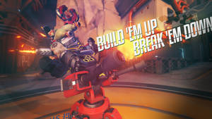 Overwatch - Torbjorn riding his way to POTG by PT-Desu