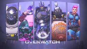 Overwatch Roles Wallpaper - Tanks by PT-Desu