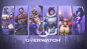 Overwatch Roles Wallpaper - Defense by PT-Desu