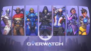 Overwatch Roles Wallpaper - Offense by PT-Desu