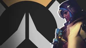 Overwatch Side Profile Wallpaper - Ana by PT-Desu