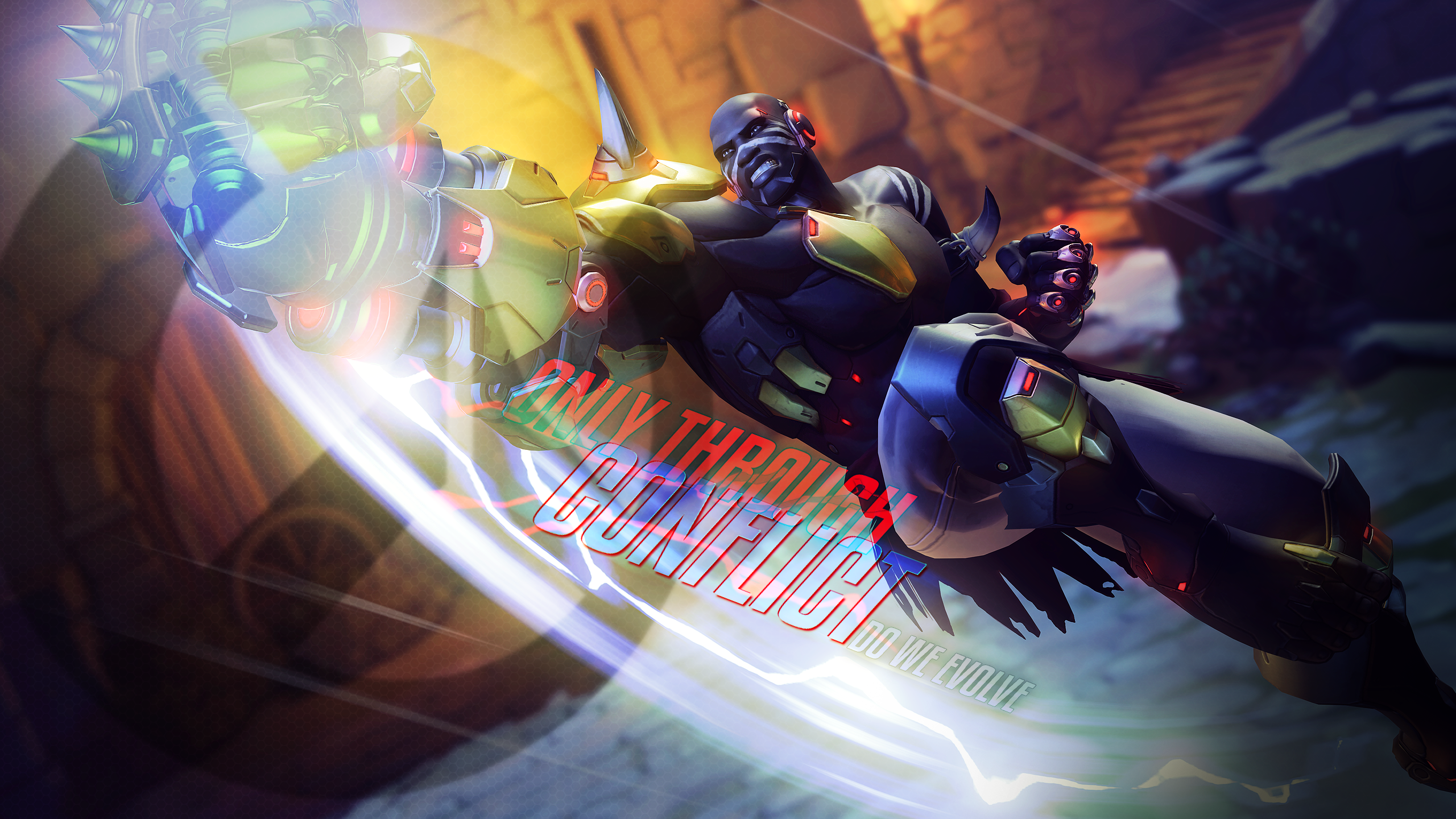 Overwatch - Nerfed Fist  (T_T)7 by PT-Desu