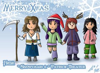 Merry Xmas by snowymari