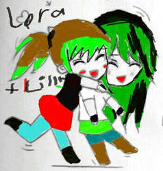 lora and lilly by rebeccaeverdeen