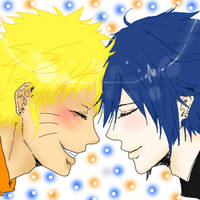 Because You Make Me Happy.. by Crazy4SasuNaru