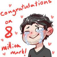 congratulations mark!! by Ao--hoshi